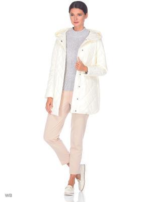 Куртка WINTERRA. Цвет: молочный