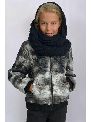 Куртка DESTY. Цвет: серебристый