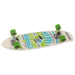 Скейт круизер  Wedge White 7.25 x 31.25 (79.4 см) Sector 9. Цвет: белый,голубой