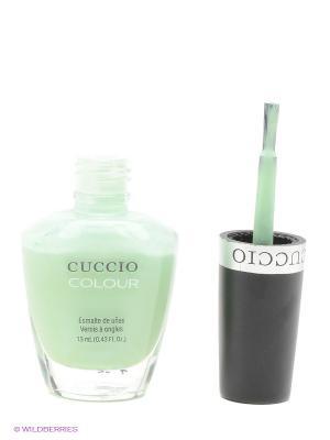 Лак для ногтей Cuccio Colour Mini Condition 1. Цвет: светло-зеленый