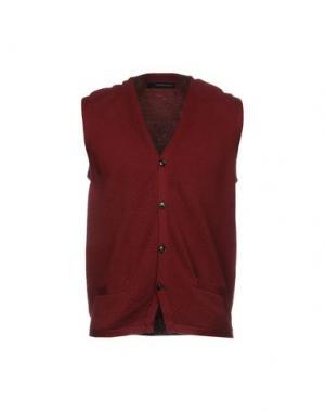 Кардиган JEORDIE'S. Цвет: красно-коричневый