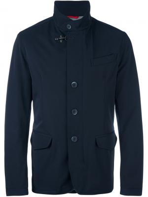 Куртка с карманами Fay. Цвет: синий