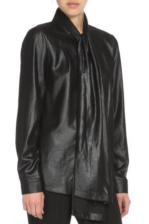 Рубашка DVF. Цвет: черный