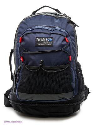 Рюкзак Polar. Цвет: темно-синий, черный