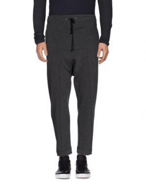 Повседневные брюки TOM REBL. Цвет: свинцово-серый