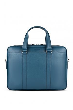 Сумка-портфель+ремень GA-189165 Avanzo Daziaro. Цвет: синий