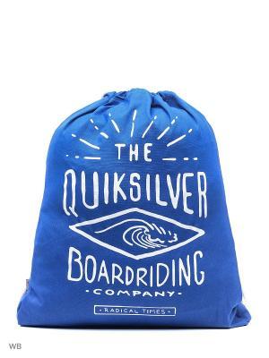 Мешок для обуви Quiksilver. Цвет: синий