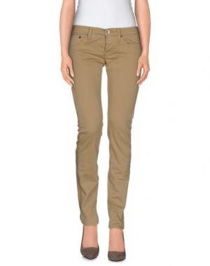 Повседневные брюки NOLITA DE NIMES. Цвет: бежевый