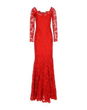 Длинное платье BALENSI. Цвет: медный