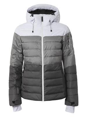 Куртка Icepeak. Цвет: светло-серый, серый