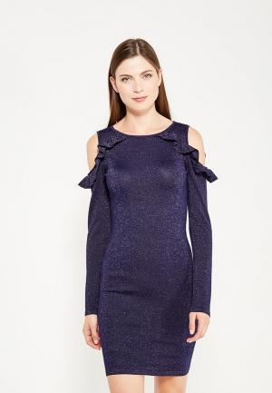 Платье By Swan. Цвет: синий
