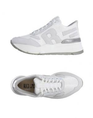 Низкие кеды и кроссовки RUCO LINE. Цвет: белый