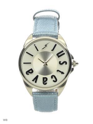 Часы наручные Just Cavalli. Цвет: голубой