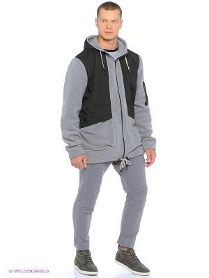 Куртка Shelter. Цвет: серый