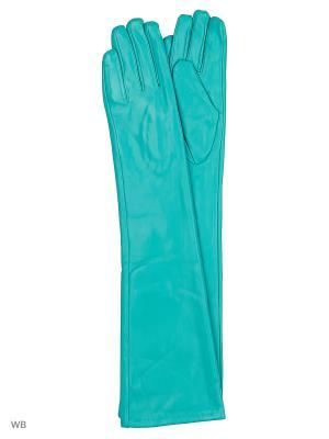 Перчатки Punta. Цвет: бирюзовый