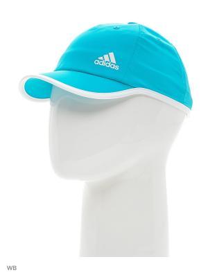 Бейсболка жен. CLITE CAP W  SHOGRN/WHITE/WHITE Adidas. Цвет: бирюзовый