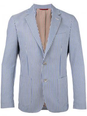 Striped blazer Fay. Цвет: синий