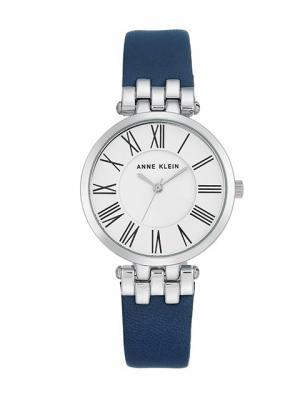 Часы ANNE KLEIN. Цвет: синий, серебристый