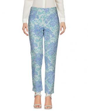 Повседневные брюки BLANCA LUZ. Цвет: небесно-голубой