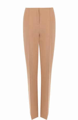 Расклешенные брюки со стрелками и карманами Diane Von Furstenberg. Цвет: бежевый