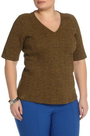 Блузка BGN Workshop. Цвет: коричневый