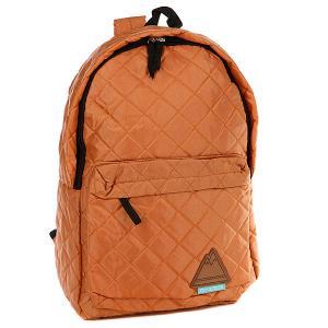 Рюкзак городской True Spin Quilted Daypack Beige TrueSpin. Цвет: оранжевый