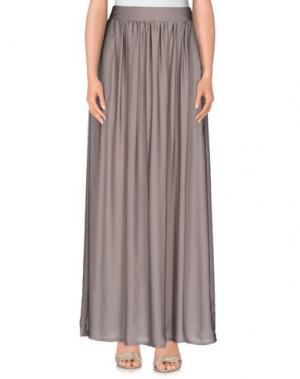 Длинная юбка J' AIME LES GARÇONS. Цвет: серый