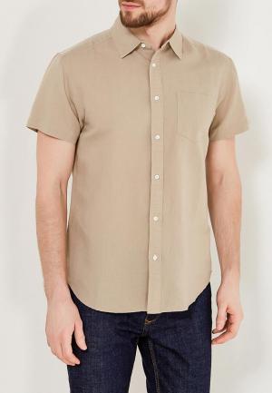 Рубашка Wrangler. Цвет: бежевый