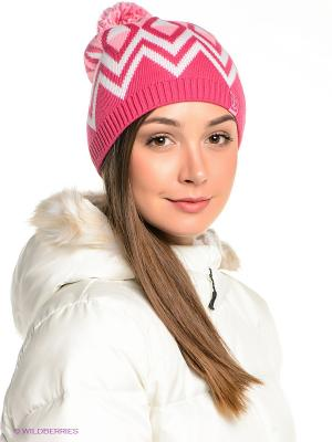 Шапка Ensis. Цвет: розовый, белый