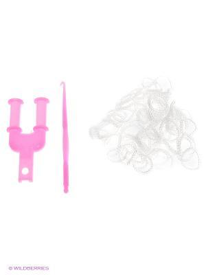 Резинки для плетения Loom Bands. Цвет: прозрачный