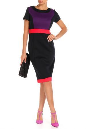 Платье Aftershock. Цвет: черный, фиолетовый, розовый