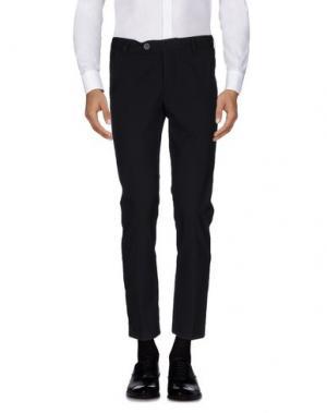 Повседневные брюки 26.7 TWENTYSIXSEVEN. Цвет: черный