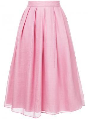Юбка Falls Jupe By Jackie. Цвет: розовый и фиолетовый