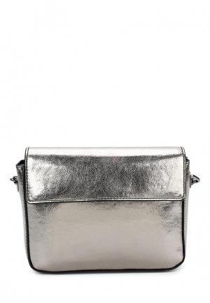 Сумка Calvin Klein Jeans. Цвет: серебряный
