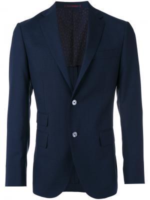 Классический пиджак The Gigi. Цвет: синий