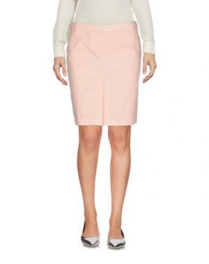 Мини-юбка ASPESI. Цвет: розовый