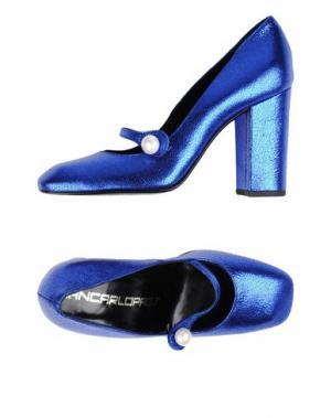 Туфли GIANCARLO PAOLI. Цвет: ярко-синий