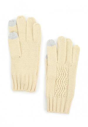 Перчатки Roxy. Цвет: бежевый