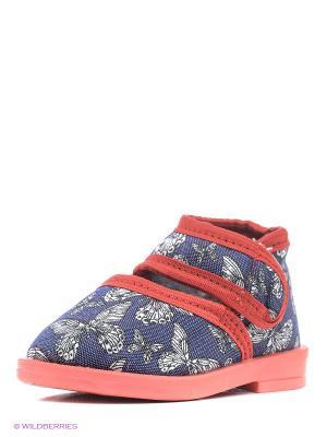 Туфли Римал. Цвет: синий