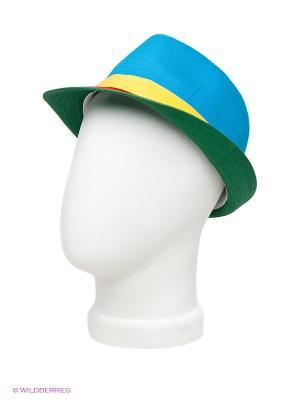 Шляпа Maxval. Цвет: голубой, желтый, зеленый