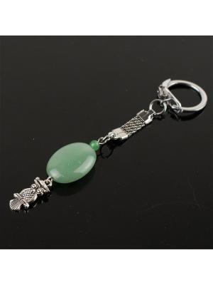 Брелок для ключей На удачу! нефрит Револю. Цвет: зеленый