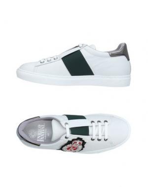 Низкие кеды и кроссовки ENRICO FANTINI. Цвет: белый
