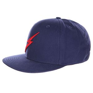 Бейсболка  Bold Ii Cap Insignia Blue Lightning Bolt. Цвет: синий