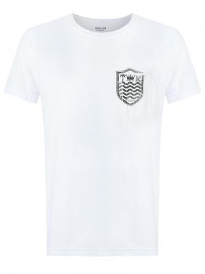 Футболка с нагрудным карманом Osklen. Цвет: белый