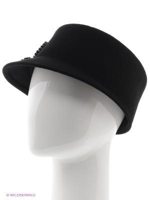 Шляпка Moltini. Цвет: черный