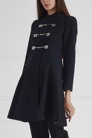 Пальто Gucci. Цвет: черный