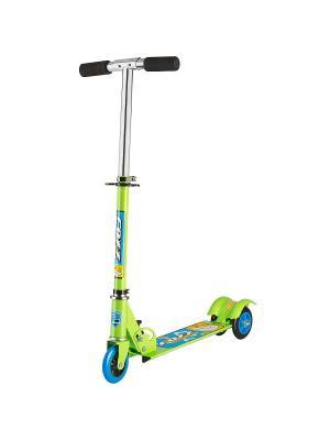 Самокат городской Foxx Smooth Motion сталь PVC колеса 100мм ABEC-7. Цвет: зеленый