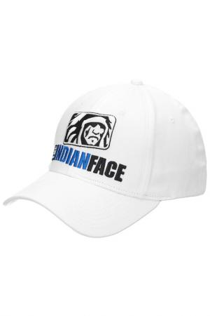 Бейсболка THE INDIAN FACE. Цвет: белый