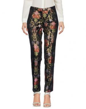 Повседневные брюки FEMME by MICHELE ROSSI. Цвет: черный
