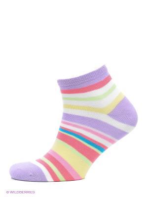 Носки GIORGIO REDAELLI. Цвет: сиреневый, белый, желтый, розовый